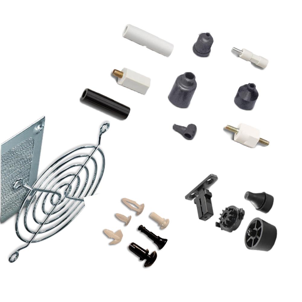 Hardware, plastic & metal